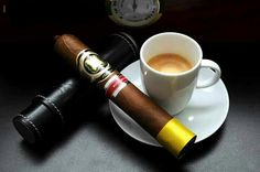 I love a good cigar and coffee pairing