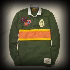 ラルフローレンラグビー メンズ ポロシャツ Ralph Lauren Arrowhead Patch Rugby ポロシャツ-アバクロ 通販 ショップ #ITShop