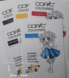 ECCP Copic lessen / Copic Colouring lessen