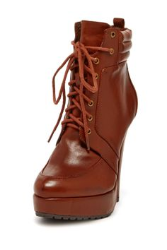 Bandi Lace-Up Bootie by Charles David
