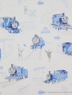 Tapet Scenic Thomas Blue 708kr/rulle.