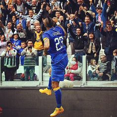 #Vidal # Juventus #finoallafine #forzaJuve #serieA #sport #calcio
