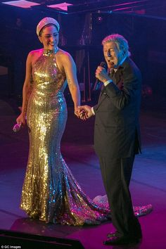 Lady Gaga and Tony Bennett - Brussels, September 2014
