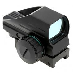 Premium 1x33 Telescopic Red Green Dot Laser Gun Reflex Sight - Black