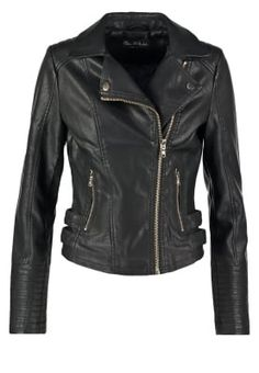 e52aaacc7ab ELSY - Faux leather jacket - black - Zalando.co.uk