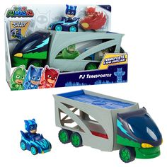 Pj Masks Games, Toys For Boys, Kids Toys, Optimus Prime Toy, Girl Unicorn Costume, Set Card Game, 7th Birthday Party Ideas, Lunch Box Set, Play Vehicles