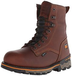 Timberland PRO Men's 8 Inch Boondock Soft Toe WP Work and Hunt Boot, Brown Tumbled Leather, 11 M US -- Read more  at the image link.