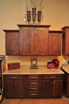 1000 images about kac mocha shaker cabinets on for Alder shaker kitchen cabinets