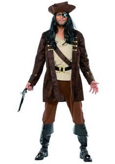 Buccaneer Costume 33432 just £37.99 from Party Animals Fancy Dress