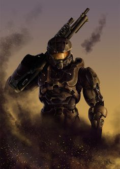 The Master Chief from the Halo Series