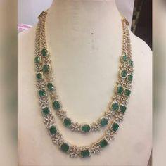 D jewelry Ruby Jewelry, India Jewelry, Bridal Jewelry, Diamond Jewelry, Jewelery, Gold Mangalsutra Designs, Engagement Jewelry, Emeralds, Jewelry Patterns