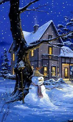 Frosty ...