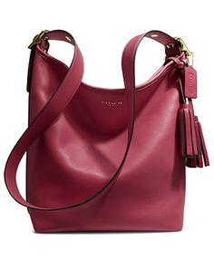 COACH LEGACY LEATHER DUFFLE - Coach Handbags - Handbags & Accessories - Macy's