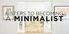 If you have trouble reducing clutter in your life, minimalism could be your solution. The most important tips for becoming a minimalist are...