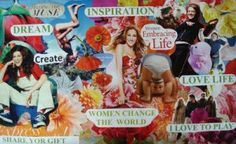 Marita's happy vision board. I look at this and it makes me smile. It works like a charm. If you are as fascinated with vision boards as I am learn more tips about why and how to make vision boards http://visionandwords.com/2012/03/08/how-to-map-your-life-with-a-vision-board/ http://visionandwords.com/2012/03/08/how-to-map-your-life-with-a-vision-board/. More articles videos etc at http://www.visionandwords.com