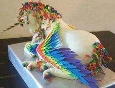 Pegasus cake