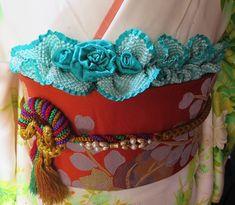 イメージ 4 Bustle, Traditional, Fashion, Kimonos, Needlepoint, Accessories, Clothing, Moda, Fashion Styles