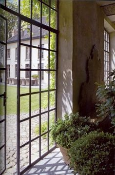 Wonderful Window Wall with Door | Content in a Cottage