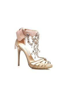 Brand Concepts: Chandelier Flesh   High Heel Shoes   Designer High Heels