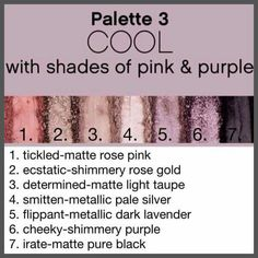 Younique pallet #3 https://www.youniqueproducts.com/EHume/products/view/US-21003-00#.VhLiJspwZpU