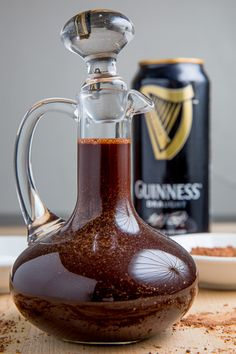 Guinness Chocolate Syrup -- I'd try it! Everything else I've had with Guinness as a base has been delicious (excepting, of course, Guinness)