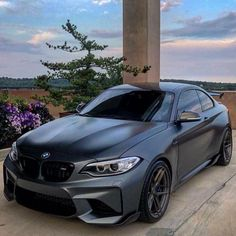 BMW F87 in Matte Grey. I love the matte but how long will it be before thats no longer cool?