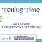 The Common Core: Telling Time activity is based on the CCGPS frameworks for Telling Time in 2nd Grade. This is a zip file with 2 ways to present the same 2 day lesson.
