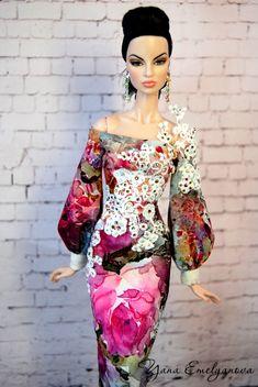Barbie Dress, Barbie Clothes, Girl Barbie, Barbie Fashion Royalty, Fashion Dolls, Vintage Barbie Dolls, Barbie World, Pretty Dolls, Glamour