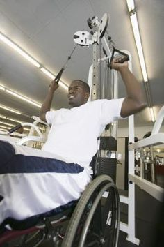 Exercise for Wheelchair Bound People - or people with lower extremity issues.  There's NO excuse not to exercise!
