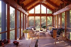 Screened In Porch Design, Pictures, Remodel, Decor and Ideas - page 18 Screened Porch Designs, Screened In Patio, Outdoor Rooms, Outdoor Living, Outdoor Decor, Outdoor Projects, Barn House Design, Casa Patio, Weekend House