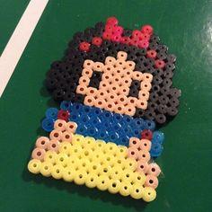 Snow White hama beads by irevemo