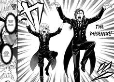 The Phoenix! Kuroshitsuji, lol