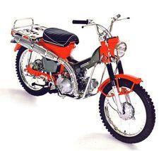 Bikes You Should Know: Honda Trail 90 Classic Honda Motorcycles, Honda Bikes, Vintage Motorcycles, Scooters, Garage Bike, Barn Garage, Trial Bike, Japanese Motorcycle, Mini Bike