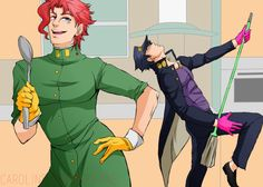 when the adults are out Jojo's Bizarre Adventure Anime, Jojo Bizzare Adventure, Jojo Bizarro, Dragon Rey, Jojo Stardust Crusaders, Drawing Meme, Jonathan Joestar, Jojo's Adventure, Animes On