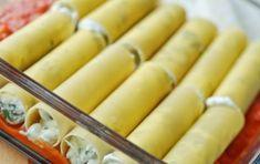 Cannelloni con ricotta, speck e asparagi - Vi presentiamo la ricetta dei cannelloni con ricotta speck e asparagi, un primo piatto delizioso con un ripieno diverso dal solito macinato di carne