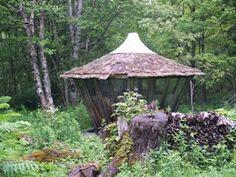 Wisdom of the Hands - One of Bill Coperthwaite's many yurts. Machiasport, Me.
