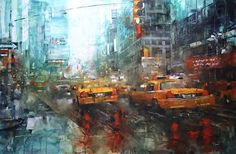 Tmes Reflections by Mark Lague Oil ~ 40 x 60
