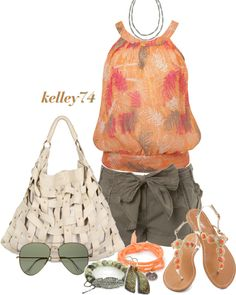 """""""Summer Shopping Trip"""" by kelley74 on Polyvore"""