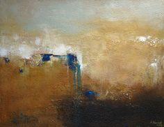 """Abstract acrylic painting """"PANORAMA"""" Original Acryl Malerei 70x90cm"""