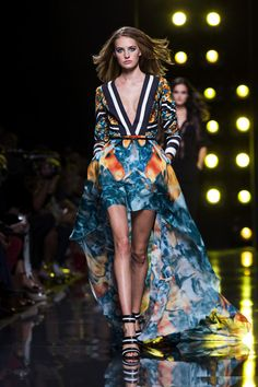 Tropic Paradise for Spring-Summer 2015 by Elie Saab