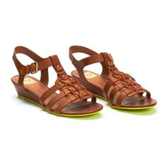 DV Sandals in Faroe Natural (love the neon soles)