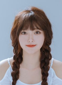 Korean Short Haircuts Idea Korean vogue hairdos extremely cute and wonderful. If you wish to do a replacement lovely hairstyles, check these Korean Haircut 2018 – Korean beauty trends Korean Short Haircut, Korean Hairstyle Long, Korean Hairstyles, Korean Bangs, Fringe Hairstyles, Trending Hairstyles, Girl Hairstyles, Fashion Hairstyles, Casual Hairstyles