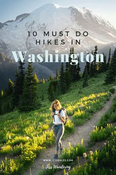 10 Must-Do Hikes In Washington State — Jess Wandering - - Ten of the best hikes in Washington State. Form the North Cascades to Mount Rainie, hiking in Washington State is something you don't want to miss! Cascade National Park, North Cascades National Park, National Parks, National Forest, Mt Rainier National Park, Places To Travel, Places To Go, Summit Lake, Utah Hikes
