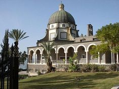 Take a Virtual Trip to the Holy Land With These Israel Tour Pictures: Sermon on the Mount Church