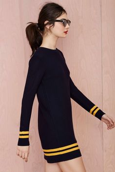 Good Game Waffle Knit Dress | Shop What's New at Nasty Gal