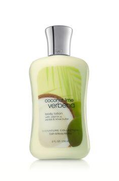 Coconut Lime Verbena -- Bath and Body Works