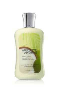 Coconut Lime Verbena -- Bath and Body Works