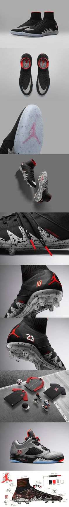 NEYMAR JR. X JORDAN COLLECTION Jordan Cleats 35963b9f5