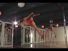 Leigh Ann, the owner of BeSpun boutique fitness in Hollywood, shows what can be learned from Pole Dance Workout program: Pole tricks dance moves and sensual expression.  www.BeSpun.com    Here is a direct link to preorder my instructional dvds http://clients.mindbodyonline.com/ws.asp?studioid=1847=43=30