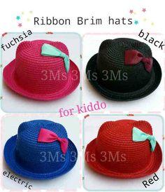 Ribbon brim hats @64rb Bhn rajut, fit 2-6thn, bebas pilih 4wrn, minim 2pcs, brg PO, ready 4mgg Order by BB : 27B24069 CALL : 081234284739 SMS : 082245025275 WA : 08813225767 FB : Vanice Cloething Twitter : @VaniceCloething Instagram : Vanice Cloe